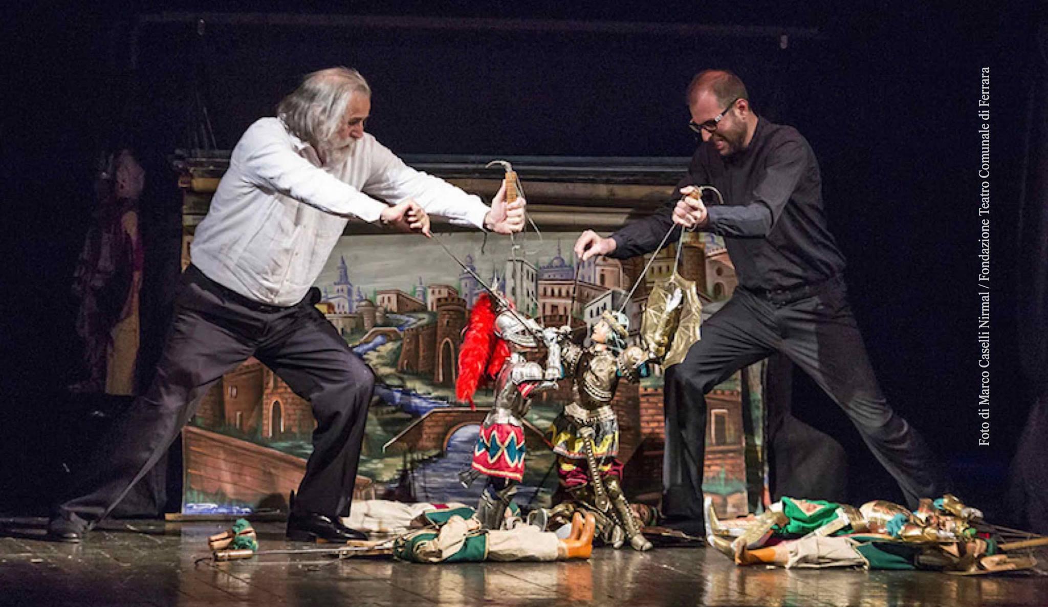 Mimmo & Giacomo Cuticchio © Marco Caselli Nirmal - Fondazione Teatro Comunale di Ferrara