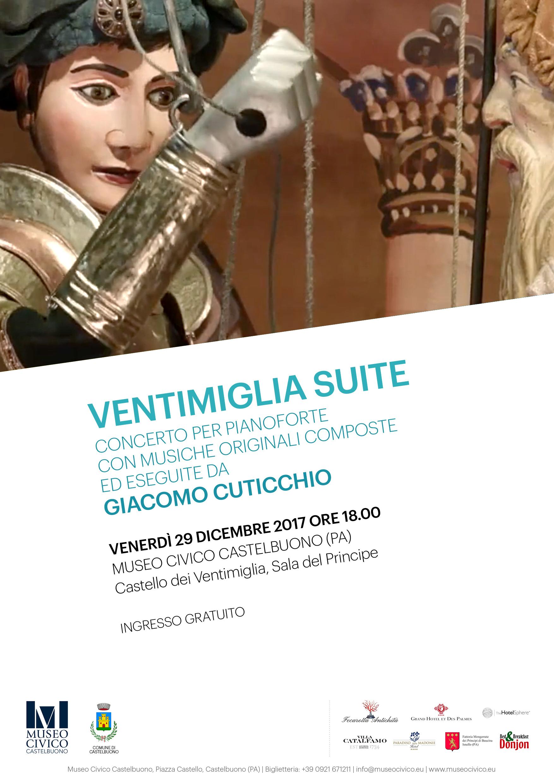 Giacomo Cuticchio perform VENTIMIGLIA SUITE